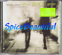When You're Gone (Bryan Adams) - UK CD1 single 1998